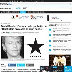 """David Bowie : l'auteur de la pochette de """"Blackstar"""" en révèle le sens caché"""