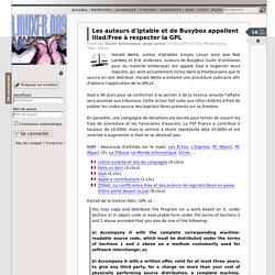Les auteurs d'iptable et de Busybox appellent Iliad/Free à respecter la GPL