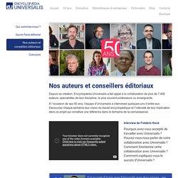 EU - Nos auteurs et conseillers éditoriaux