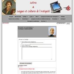 auteurs - [Lettres & Langues et Cultures de l'Antiquité]