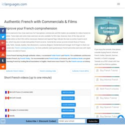 Authentic French with Commercials & Films