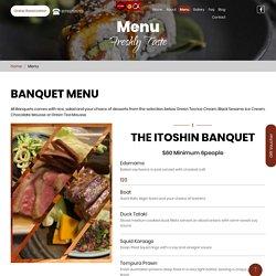 Menu – Authentic Japanese Restaurant Since 1988