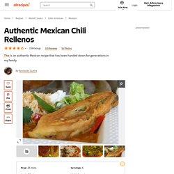 Authentic Mexican Chili Rellenos Recipe