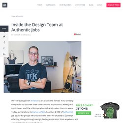 Inside the Design Team at Authentic Jobs « Thoughts on users, experience, and design from the folks at InVision.