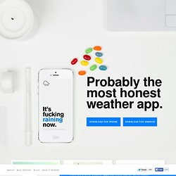 Authentic Weather - The Most Honest Weather App