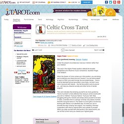 Authentic OnLine Do-It-Yourself Tarot Readings Tarot.com birthday