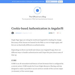 Cookie-based Authentication in AngularJS