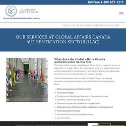 Document Authentication & Document Legalization Office