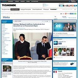 Sarkozy: Mediapart réaffirme l'authenticité d'un document sur un financement libyen
