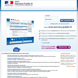 Mon service public pearltrees for Cpam changement d adresse