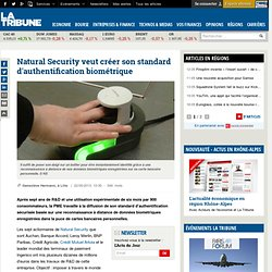 Natural Security veut créer son standard d'authentification biométrique