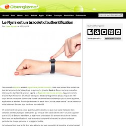 Le Nymi est un bracelet d'authentification