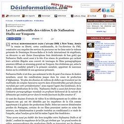 La CIA authentifie des vidéos X de Nafissatou Diallo sur Youporn