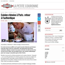 La petite couronne - Cuisine chinoise à Paris : retour à l'authentique - Libération.fr