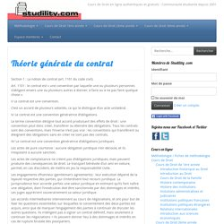 Cours de Droit en ligne authentiques et gratuits: Studility