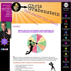 Author Chris Grabenstein: Books for Kids!