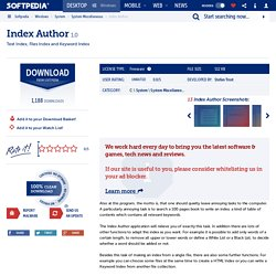 Index Author Download
