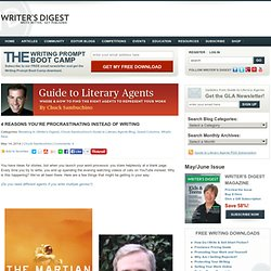 Author Andy Weir Shares Advice on How to Write More