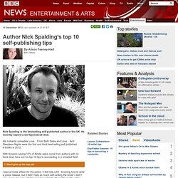 Top 10 self-publishing tips