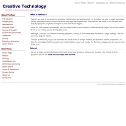 TexToys - Authoring tool for Rhubarb and Sequitur language learning exercises