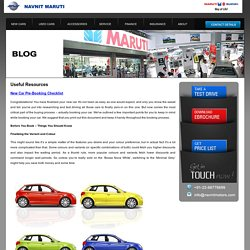 Authorised Maruti Suzuki Car Dealer in Thane