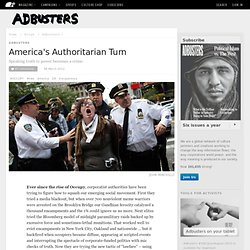 America's Authoritarian Turn