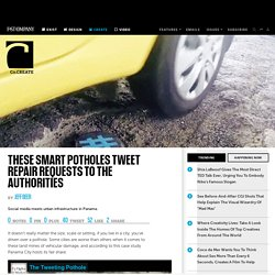 These Smart Potholes Tweet Repair Requests To The Authorities