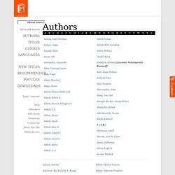 Authors - A