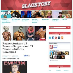 Rapper Authors: 13 Famous Rappers and 13 Famous Authors, Combined