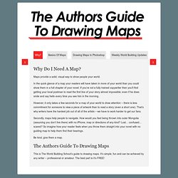 Authors Guide To Drawing Maps - The World Building School
