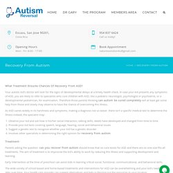 Know If Autism Can Be Cured Completely?