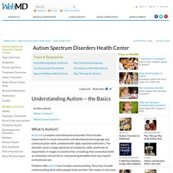 Autism Causes, Types of Autism, Definition, and Symptoms