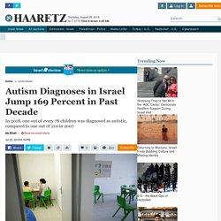 Autism diagnoses in Israel jump 169 percent in past decade