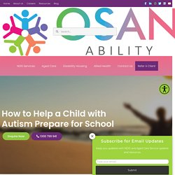 How to help a child with Autism I Disability and Aged Care Services