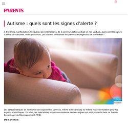 Autisme : les signes qui doivent alerter - PARENTS.fr