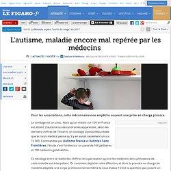 France : L'autisme, maladie encore mal repérée par les médecins