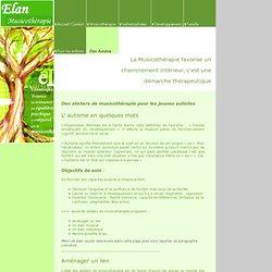 Elan Autisme - Musicotherapie, Elan-Musicothérapie, Nantes