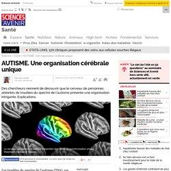 AUTISME. Une organisation cérébrale unique