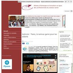 Autisme : Tsara, le serious game pour les aidants