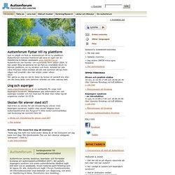 en webbplats om autism, Aspergers syndrom och andra autismliknande tillstånd