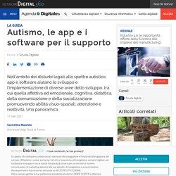 Autismo, le app e i software per il supporto