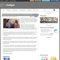 Twelve-Year-Old Wins iPad, Gives It To Autistic Boy Instead