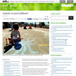 Autistic or just brilliant? - life-style