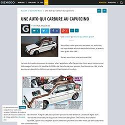 Une auto qui carbure au capuccino - Gizmodo -
