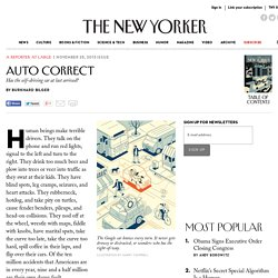 Auto Correct - The New Yorker