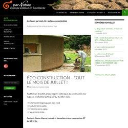 auto éco-constrution Archives -
