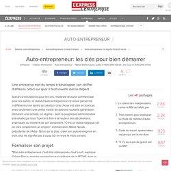 Auto-entrepreneur: les clés pour bien démarrer