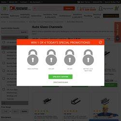 Auto Glass Channels