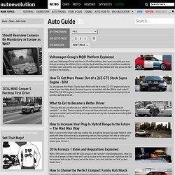 Auto Guides