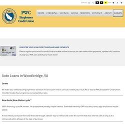 Auto Loan Services in Woodbridge, VA